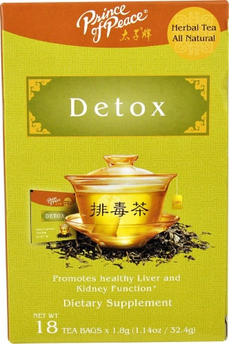 Prince of Peace Detox Herbal Tea Perspective: front