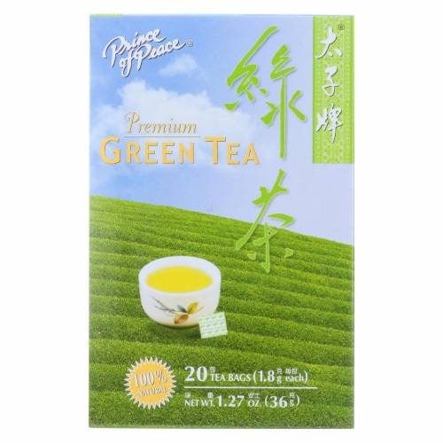 Prince of Peace Premium Green Tea - 20 Tea Bags Perspective: front