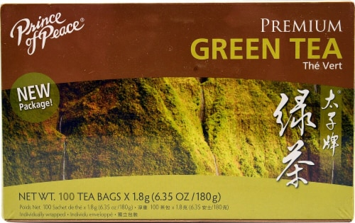 Prince of Peace Premium Green Tea Perspective: front