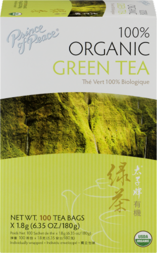 Prince Of Peace Organic Green Tea Perspective: front