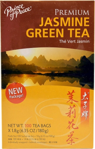 Prince of Peace Premium Jasmine Green Tea Perspective: front