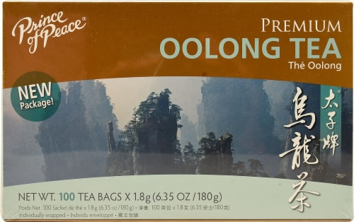 Prince of Peace Premium Oolong Tea Bags Perspective: front