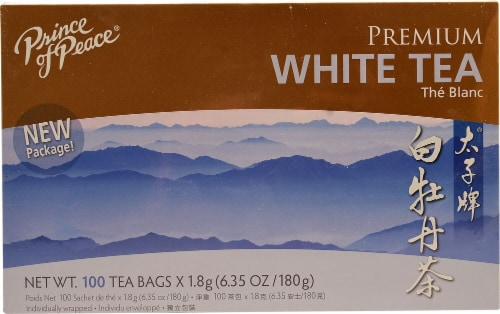 Prince of Peace Premium White Tea Perspective: front
