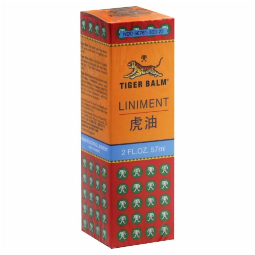 Tiger Balm Liniment Perspective: front