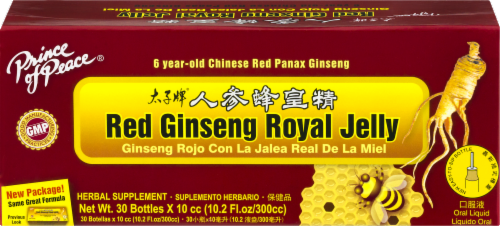 Prince of Peace Red Ginseng Royal Jelly Herbal Supplement Perspective: front