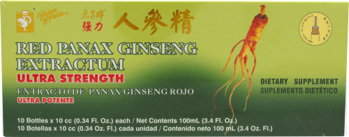 Panex Ginseng Extract Perspective: front