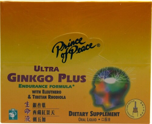 Prince of Peace  Ultra Ginkgo Plus Endurance Formula Perspective: front