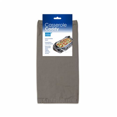 Grand Fusion 2 in 1 Casserole Caddy and Dish Towel Perspective: front