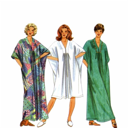 Simplicity US8876AA Womens Vintage Dress & Stole, Size AA Perspective: front