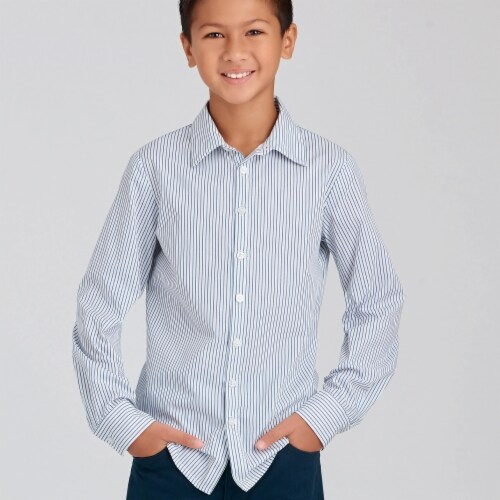 Simplicity Patterns SS9056HH 3-6 Childrens & Teen Boys Shirts Perspective: front