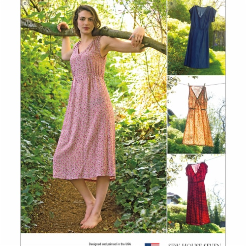 Simplicity Patterns US8231R5 14-20 Womens Summer Dresses Perspective: front