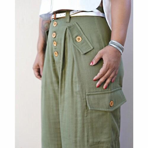Simplicity US8889U5 Womens Shirt & Wide Leg Pants, Size U5 Perspective: front