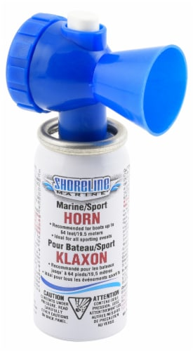 Shoreline Marine Mini Air Horn Perspective: front