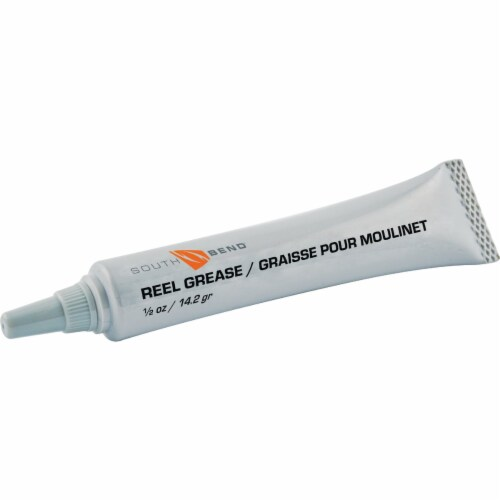 South Bend® Teflon Reel Grease Perspective: front