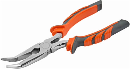 South Bend® Bent Nose Pliers Perspective: front