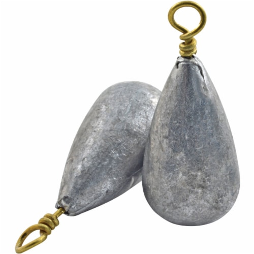 South Bend Size 6 Dipsey Sinkers Perspective: front