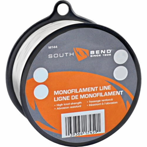 South Bend® Clear Monofilament Fishing Line Perspective: front