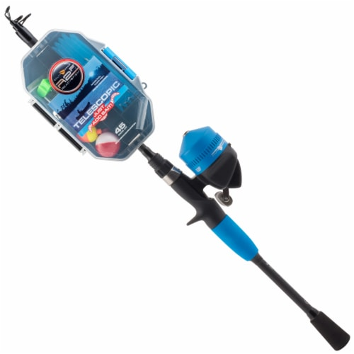 Ready 2 Fish Just Add Bait Telescopic Fishing Pole Perspective: front