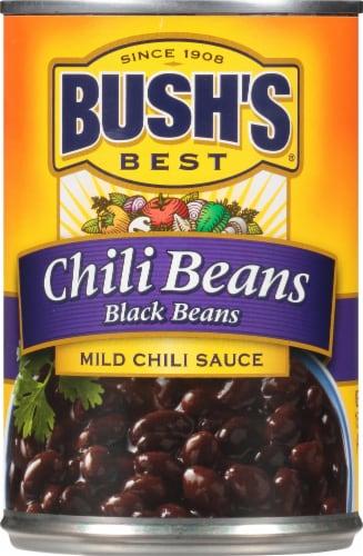 Bush's Best Mild Black Chili Beans Perspective: front