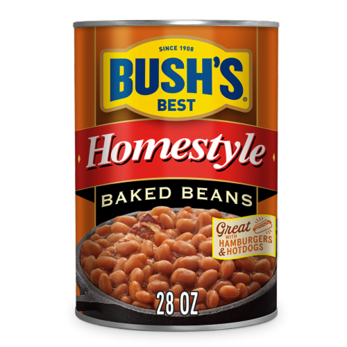 Bush's Best Homestyle Baked Beans Perspective: front
