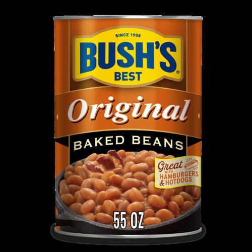 Bush's Best Original Baked Beans Perspective: front