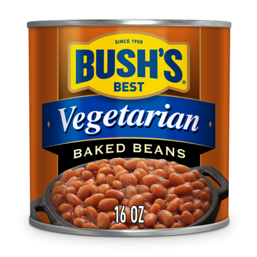 Bush's Best Vegetarian Baked Beans Perspective: front