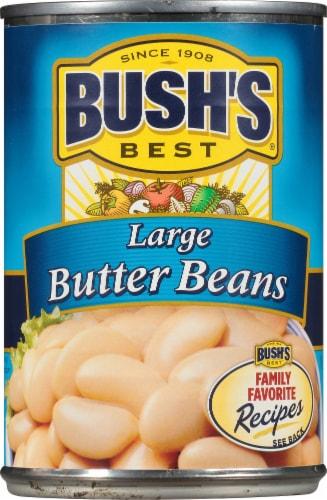 Bush's Best Large Butter Beans Perspective: front