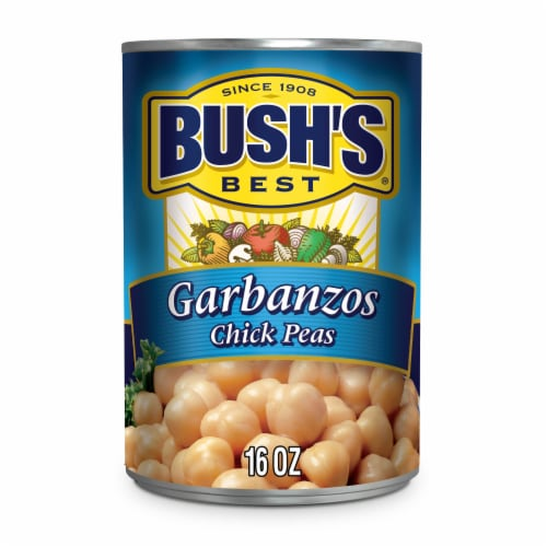 Bush's Best Garbanzo Beans Perspective: front