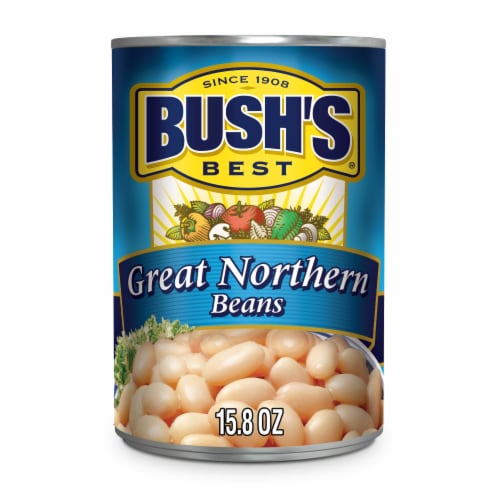 Bush's Best Great Northern Beans Perspective: front