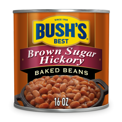 Bush's Best Brown Sugar Hickory Baked Beans Perspective: front