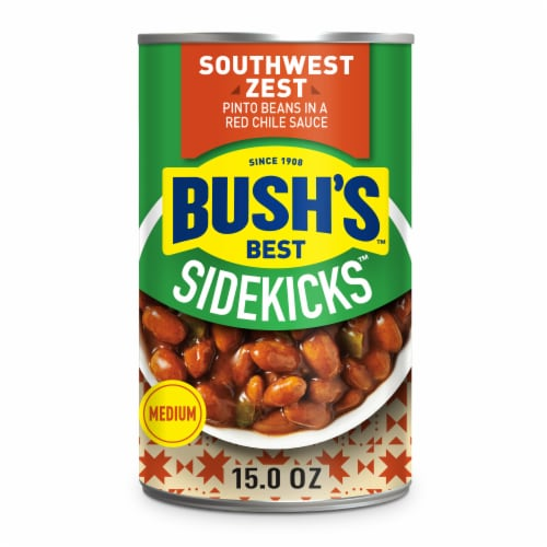 Bush's Best Sidekicks Southwest Zest Pinto Beans Perspective: front