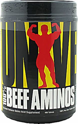 Universal Nutrition  Beef Aminos Perspective: front