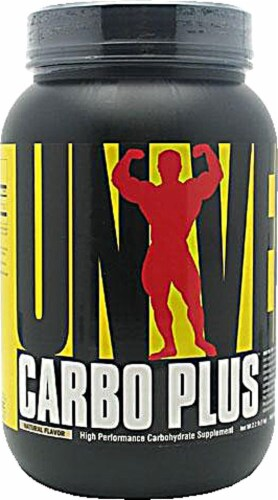 Universal Nutrition  Carbo Plus™ Perspective: front