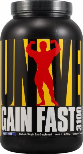 Universal Nutrition  Gain Fast™   Vanilla Shake Perspective: front