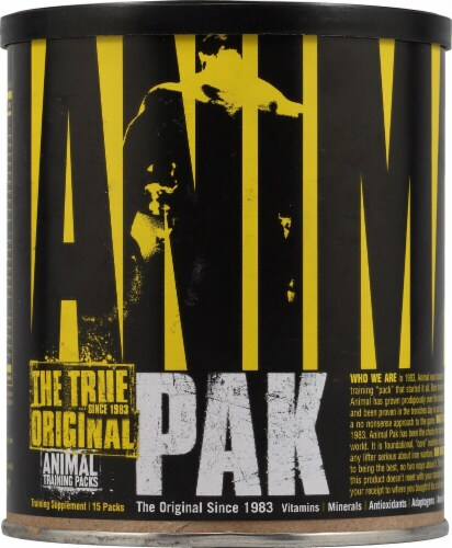 Animal  Pak® Perspective: front