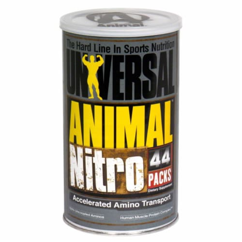 Animal Pak Nitro Dietary Supplement Perspective: front