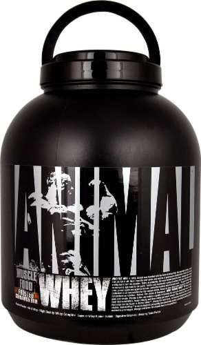 Animal  Whey Muscle Food   Frosted Cinnamon Bun Perspective: front