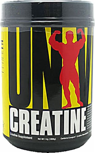 Universal Nutrition  Creatine Powder Perspective: front