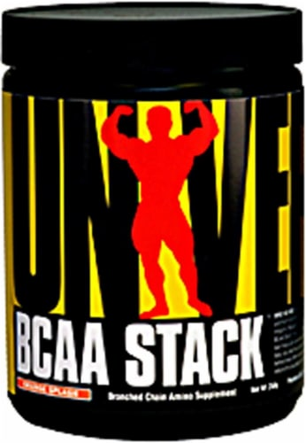 Universal Nutrition  BCAA Stack   Orange Splash Perspective: front