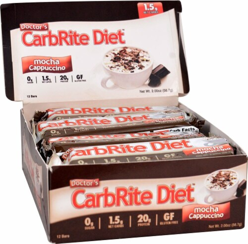 Doctor's Carbrite Diet Sugar Free Bars Perspective: front