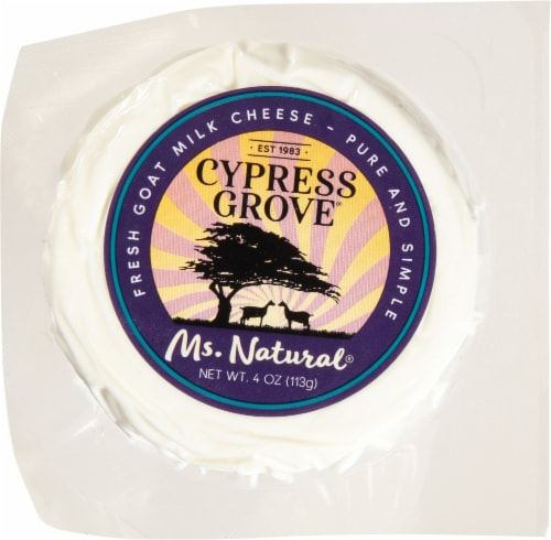 Cypress Grove Chevre Ms. Natural Fresh Goat Milk Cheese Perspective: front