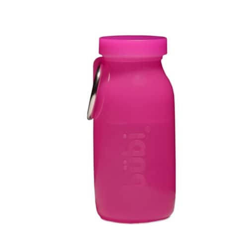 Bubi Bottle 14 oz. Bottle in Pink Perspective: front