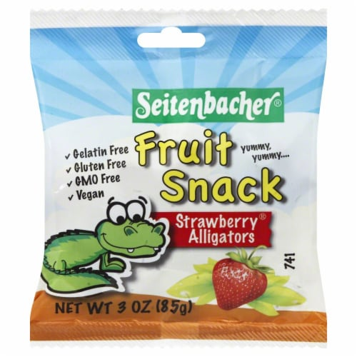 Seitenbacher Strawberry Fruit Snacks Perspective: front