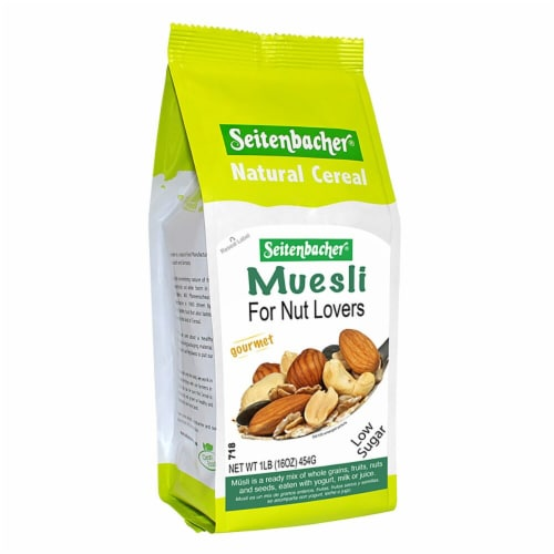 Seitenbacher  Muesli for Nut Lovers   Gourmet Mix Perspective: front