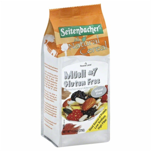 Seitenbacher All Natural Musli #7 Gluten Free Perspective: front