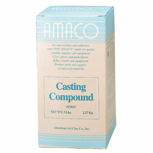 Amaco Plaster Casting Compound Perspective: front