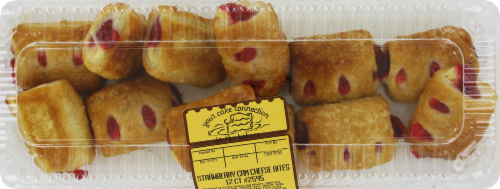 Bakery Fresh Goodness Strawberry Cream Cheese Bites 12ct Perspective: front