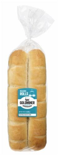California Goldminer Sourdough Breakaway Rolls Perspective: front