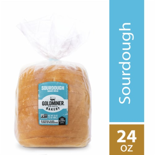 California Goldminer Sourdough Square Bread Perspective: front
