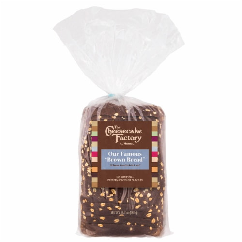 The Cheesecake Factory Brown Bread Wheat Sandwich Loaf Perspective: front
